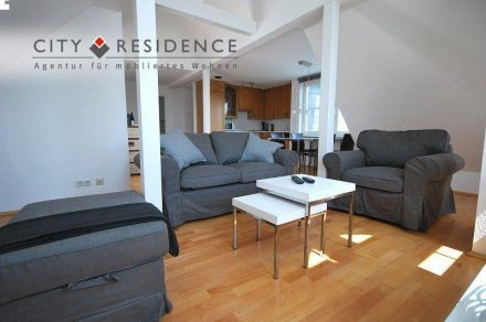 Frankfurt-Westend 2-room(s)  Apartment, 55m²